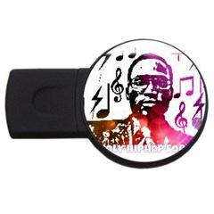 Iamholyhiphopforever 11 Yea Mgclothingstore2 Jpg 4gb Usb Flash Drive (round) by christianhiphopWarclothe