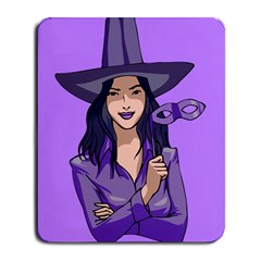 Purple Witch Large Mouse Pad (rectangle) by FunWithFibro