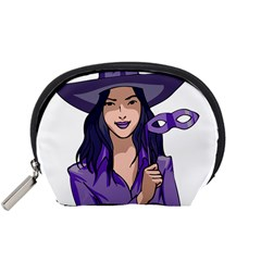 Purple Witch Accessory Pouch (small) by FunWithFibro