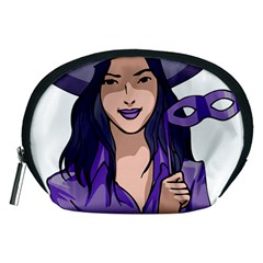 Purple Witch Accessory Pouch (medium) by FunWithFibro
