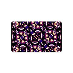 Colorful Tribal Pattern Print Magnet (name Card) by dflcprints