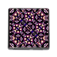 Colorful Tribal Pattern Print Memory Card Reader With Storage (square) by dflcprints
