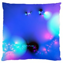 Love In Action, Pink, Purple, Blue Heartbeat 10000x7500 Large Cushion Case (two Sided)