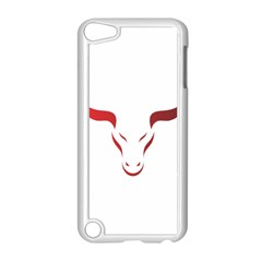 Stylized Symbol Red Bull Icon Design Apple Ipod Touch 5 Case (white) by rizovdesign