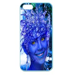 Water Nymph Apple Seamless Iphone 5 Case (color)