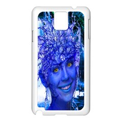 Water Nymph Samsung Galaxy Note 3 N9005 Case (white) by icarusismartdesigns