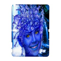 Water Nymph Samsung Galaxy Note 10 1 (p600) Hardshell Case by icarusismartdesigns