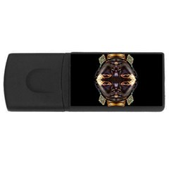 African Goddess 4gb Usb Flash Drive (rectangle)