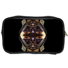 African Goddess Travel Toiletry Bag (two Sides) by icarusismartdesigns