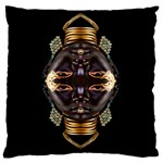 African Goddess Large Cushion Case (Single Sided)  Front