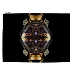 African Goddess Cosmetic Bag (xxl) by icarusismartdesigns