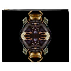 African Goddess Cosmetic Bag (xxxl) by icarusismartdesigns