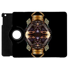 African Goddess Apple Ipad Mini Flip 360 Case by icarusismartdesigns