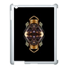African Goddess Apple Ipad 3/4 Case (white) by icarusismartdesigns