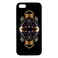 African Goddess Iphone 5s Premium Hardshell Case by icarusismartdesigns