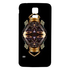 African Goddess Samsung Galaxy S5 Back Case (white) by icarusismartdesigns