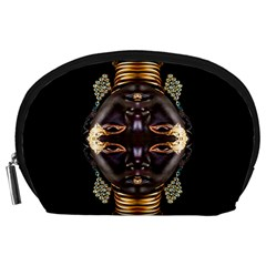 African Goddess Accessory Pouch (large) by icarusismartdesigns