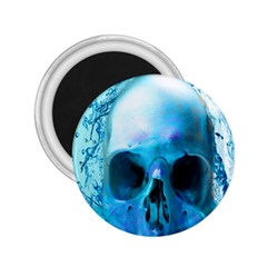 Skull In Water 2 25  Button Magnet by icarusismartdesigns