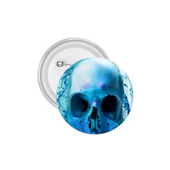Skull In Water 1 75  Button by icarusismartdesigns