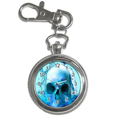 Skull In Water Key Chain Watch by icarusismartdesigns