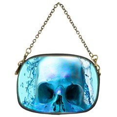 Skull In Water Chain Purse (one Side)