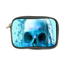 Skull In Water Coin Purse by icarusismartdesigns