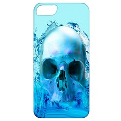 Skull In Water Apple Iphone 5 Classic Hardshell Case by icarusismartdesigns