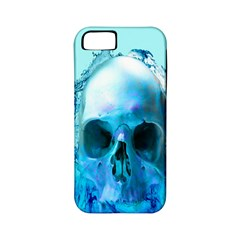 Skull In Water Apple Iphone 5 Classic Hardshell Case (pc+silicone) by icarusismartdesigns