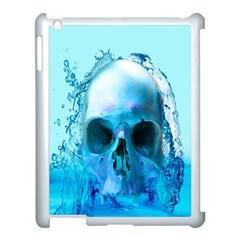 Skull In Water Apple Ipad 3/4 Case (white)
