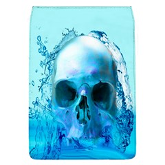Skull In Water Removable Flap Cover (large) by icarusismartdesigns