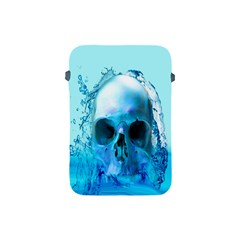 Skull In Water Apple Ipad Mini Protective Sleeve by icarusismartdesigns