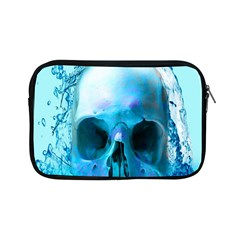 Skull In Water Apple Ipad Mini Zippered Sleeve by icarusismartdesigns