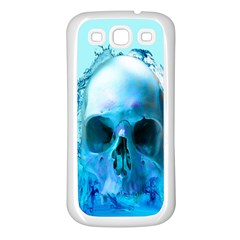 Skull In Water Samsung Galaxy S3 Back Case (white) by icarusismartdesigns