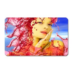 Tears Of Blood Magnet (rectangular) by icarusismartdesigns