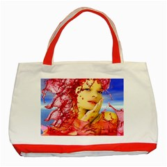 Tears Of Blood Classic Tote Bag (red)