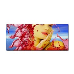 Tears Of Blood Hand Towel by icarusismartdesigns