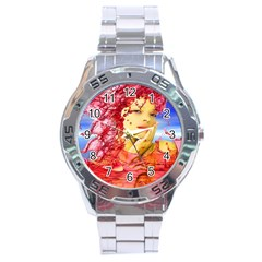 Tears Of Blood Stainless Steel Watch