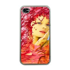 Tears Of Blood Apple Iphone 4 Case (clear) by icarusismartdesigns