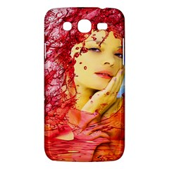 Tears Of Blood Samsung Galaxy Mega 5 8 I9152 Hardshell Case  by icarusismartdesigns