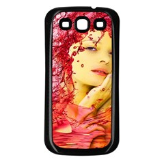 Tears Of Blood Samsung Galaxy S3 Back Case (black) by icarusismartdesigns