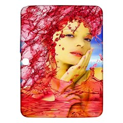 Tears Of Blood Samsung Galaxy Tab 3 (10 1 ) P5200 Hardshell Case  by icarusismartdesigns