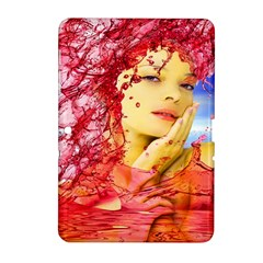 Tears Of Blood Samsung Galaxy Tab 2 (10 1 ) P5100 Hardshell Case  by icarusismartdesigns