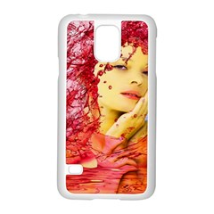 Tears Of Blood Samsung Galaxy S5 Case (white) by icarusismartdesigns