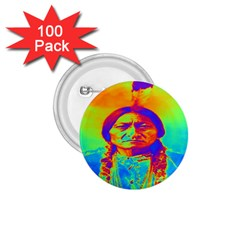 Sitting Bull 1 75  Button (100 Pack) by icarusismartdesigns