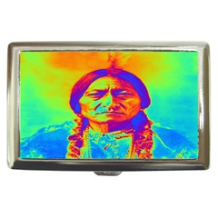 Sitting Bull Cigarette Money Case by icarusismartdesigns