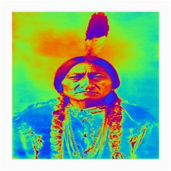 Sitting Bull Glasses Cloth (medium) by icarusismartdesigns