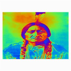 Sitting Bull Glasses Cloth (large) by icarusismartdesigns