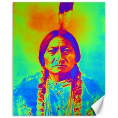 Sitting Bull Canvas 11  X 14  (unframed) by icarusismartdesigns