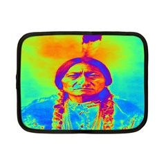 Sitting Bull Netbook Sleeve (small) by icarusismartdesigns