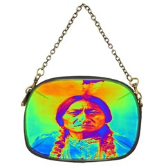 Sitting Bull Chain Purse (two Sided)  by icarusismartdesigns